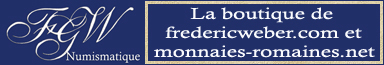 la boutique du site FGW NUMISMATICS