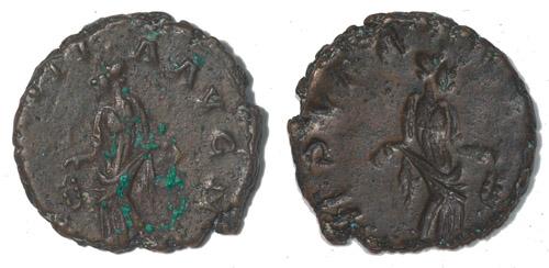 Les erreurs des monétaires sur les monnaies romaines Incuse_1