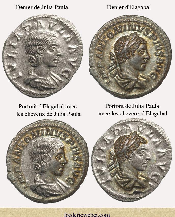 Ressemblance entre l'impératrice et l'empereur Paula_elagabal