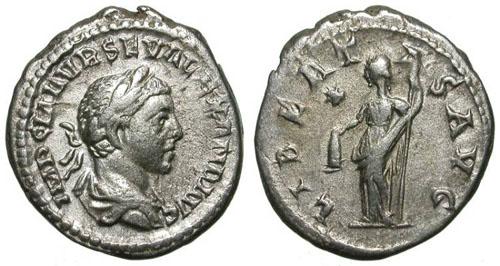 Les monnaies de poids exceptionnellement lourd Severe_alexandre_libertas_n